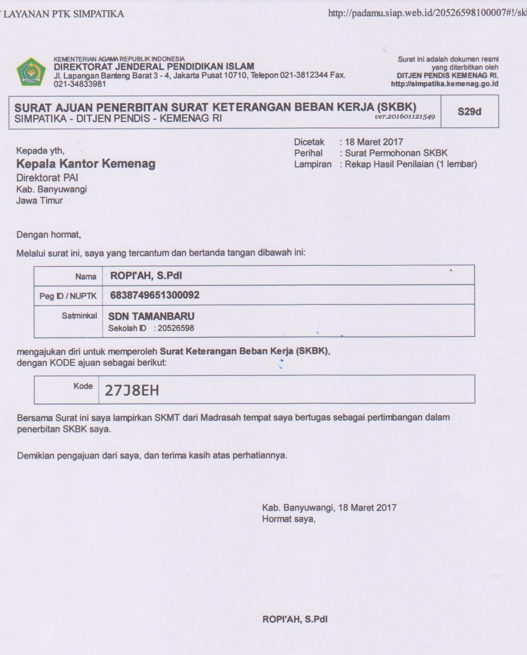 Download Ptk Pai Sd Terbaru Kementerian